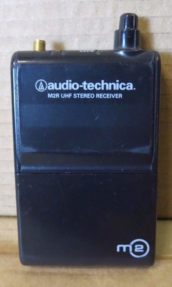Audio-Technica M2R UHF Stereo Reciever 832~865MHz  Wireless In-Ear Monitor